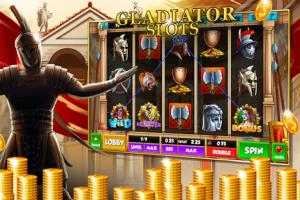 Juego de tragamonedas gladiador